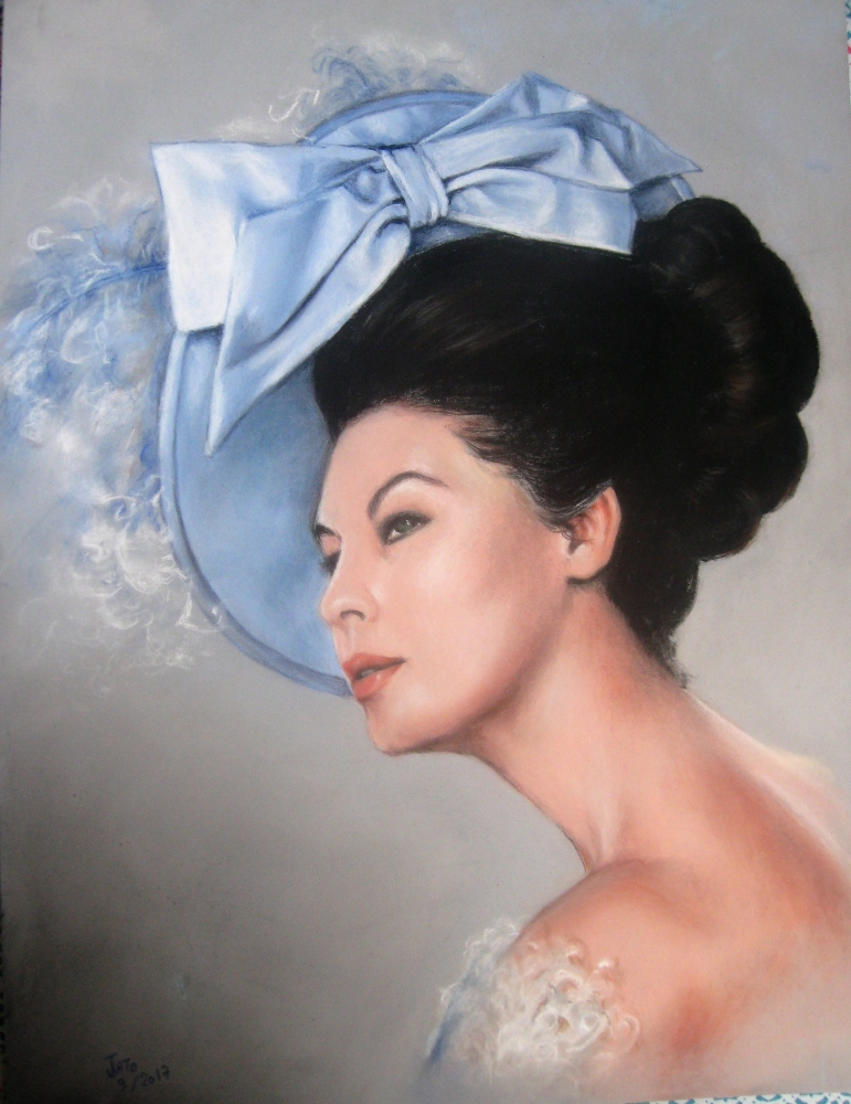 Ava Gardner by Jackie.To